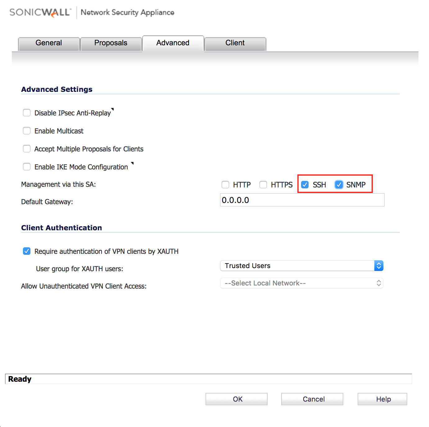 How to enable SNMP on SonicWALL managed devices – Auvik Support