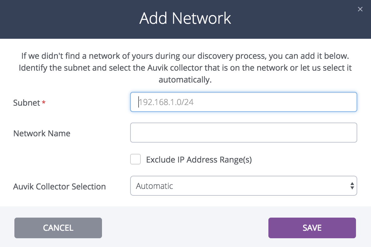 How do I approve, add, edit, or delete networks to be